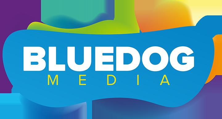 logomarca BlueDog Media